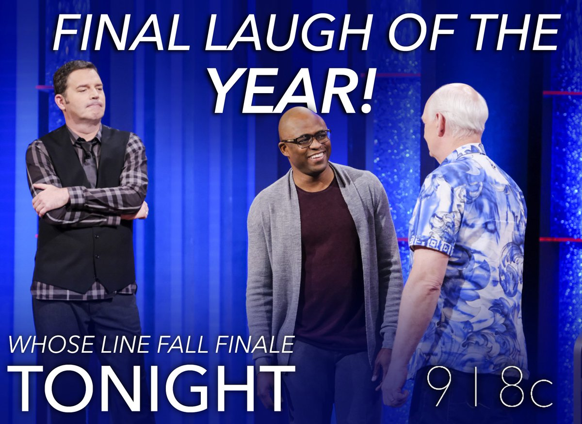 Image result for whose line season finale brad and wayne les miz