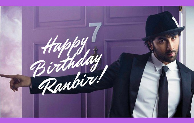 ~ Happy Birthday Ranbir Kapoor ~ Greetings from Israel