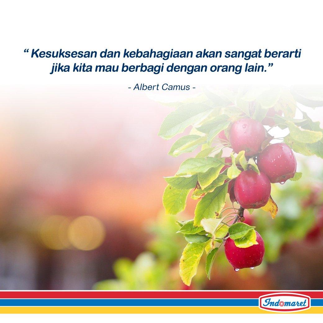 Selamat pagi dan selamat hari Jumat sobat Indomaret. Ayo tetap semangat! :) https://t.co/z0MXXvgpIg