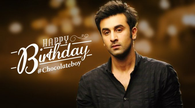 We wish Ranbir Kapoor a very happy birthday. May all your wishes come true.