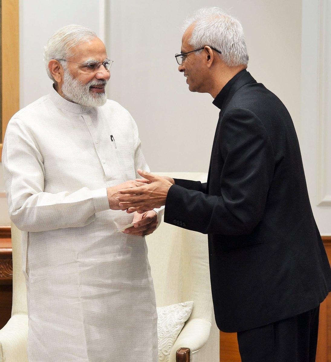 Father Tom meeting Prime Minister Narendra Modi