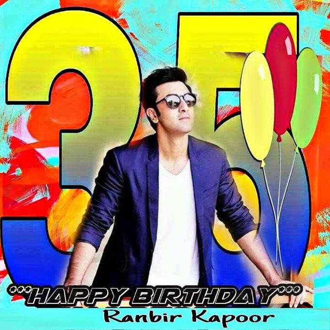 *A Very Happy Birthday Bollywood Rockstar Ranbir Kapoor*
