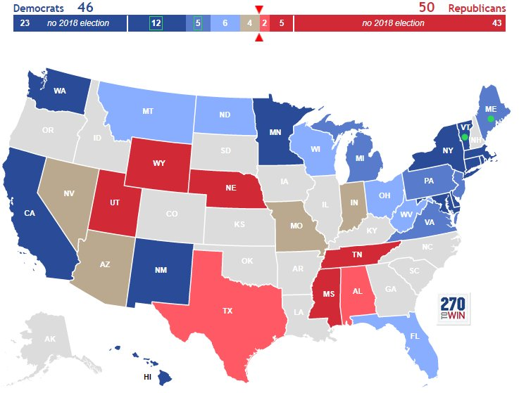 ToWin ToWin Twitter - Interactive us election map