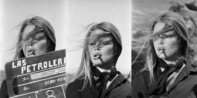 Happy Birthday Brigitte Bardot! Here\s a trio of beautiful photographs taken by Terry O\Neill, 1971.