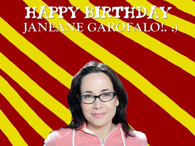 Happy Birthday Janeane Garofalo!. :)