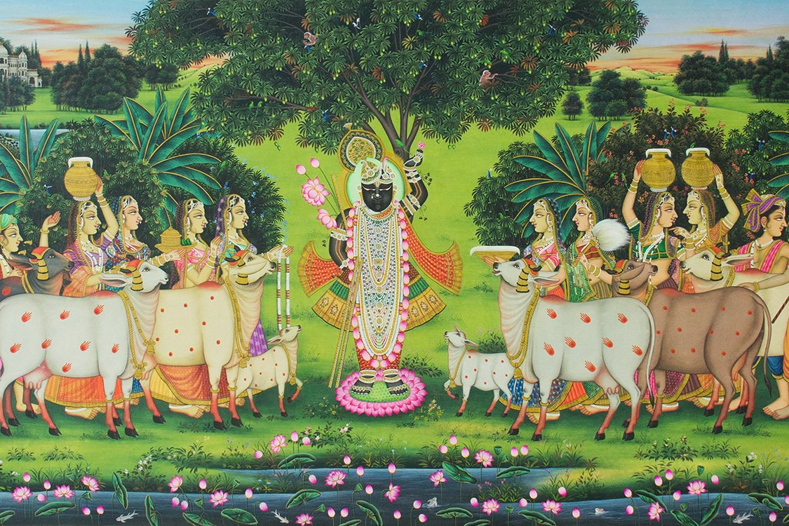 From #Janmashtami to #Annakoot, and more, here's a guide to understanding the #festivals depicted in #Pichwais:  http:// bit.ly/2yIMpUm  &nbsp;  <br>http://pic.twitter.com/8lwPfUBHW5