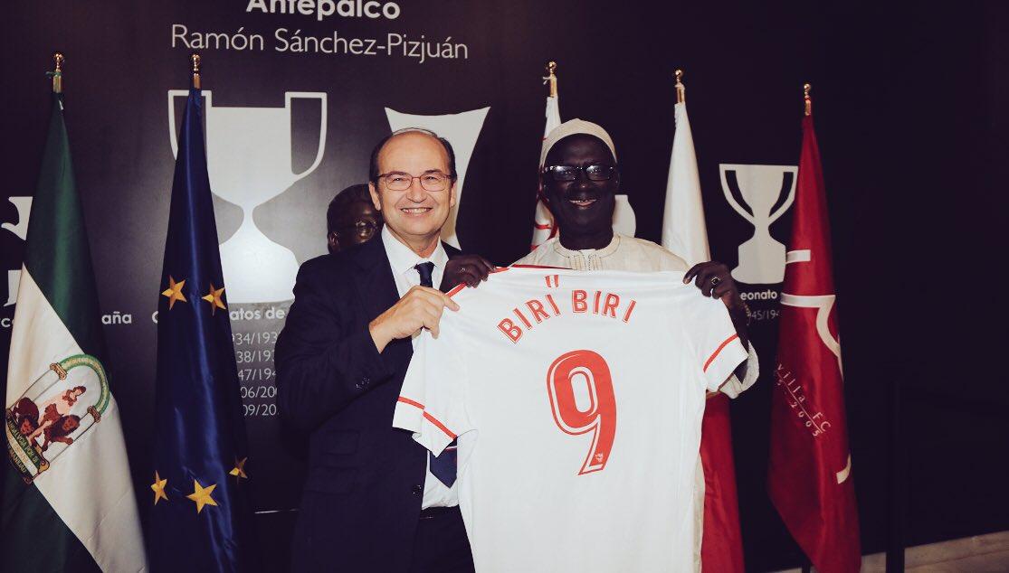 "Modou Lamin Beyai on Twitter: ""Gambia legend Alhaji Momodou Njie ..."