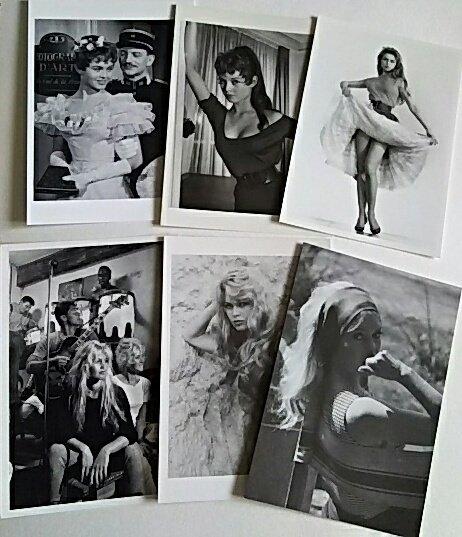 Happy Birthday  Brigitte Bardot 30          postcard B B