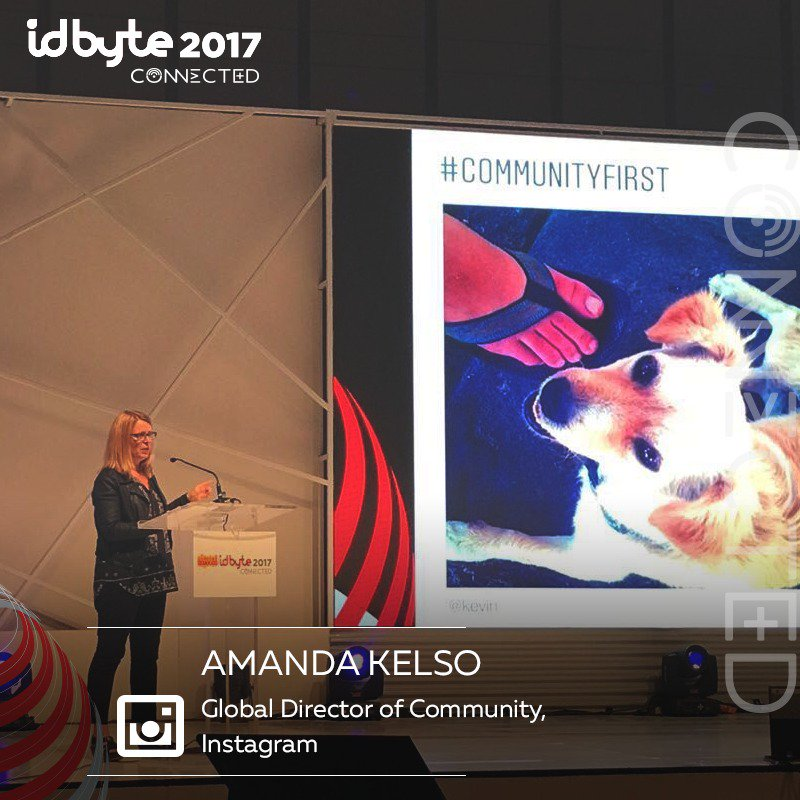 Amanda shows the very first photo posted in @instagram. #IDByte2017 <br>http://pic.twitter.com/jdoYoew9bV