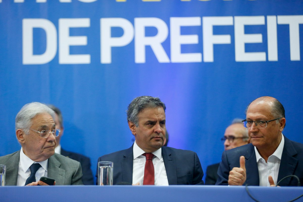 PSDB é o partido mais rejeitado do Brasil, aponta pesquisa. https://t.co/tP3YdvXuAN