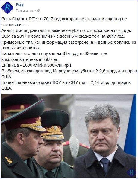 Одиночные взрывы на территории арсенала в Калиновке могут продолжаться еще в течение 3-4 дней, - Минобороны - Цензор.НЕТ 8528