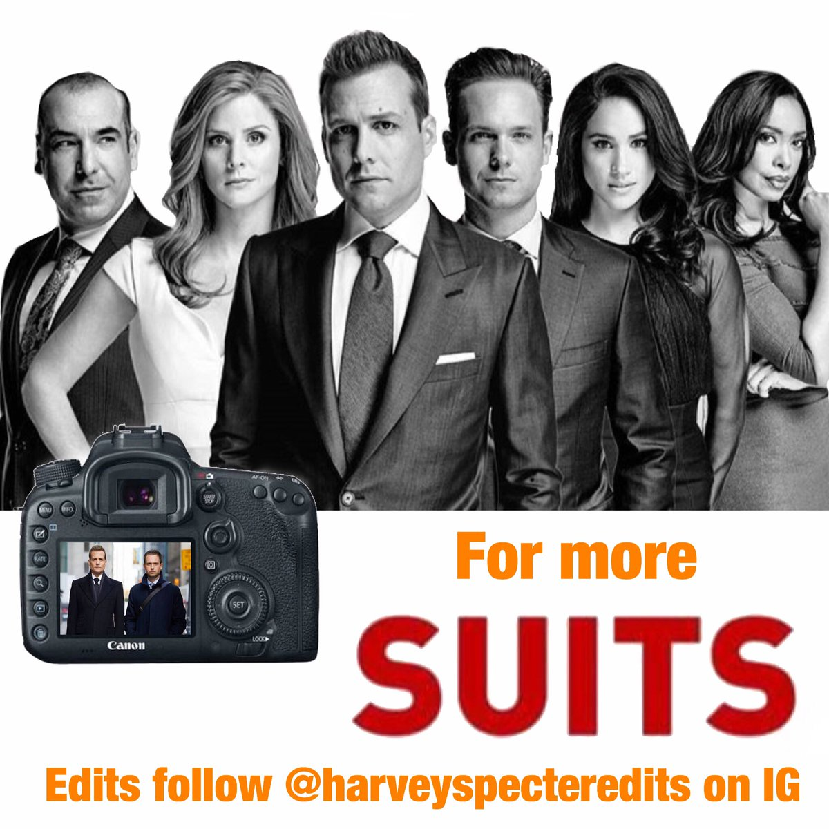 Go follow my #harveyspecter account on instagram! @harveyspecteredits <br>http://pic.twitter.com/w4dXw7aqCU