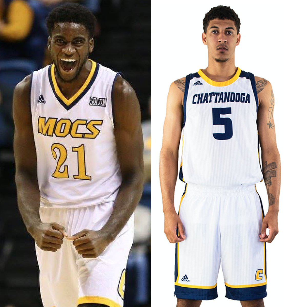 ffc6bd1f8 New home and road unis for Chattanooga. … Adding to the list of teams with  new uniforms