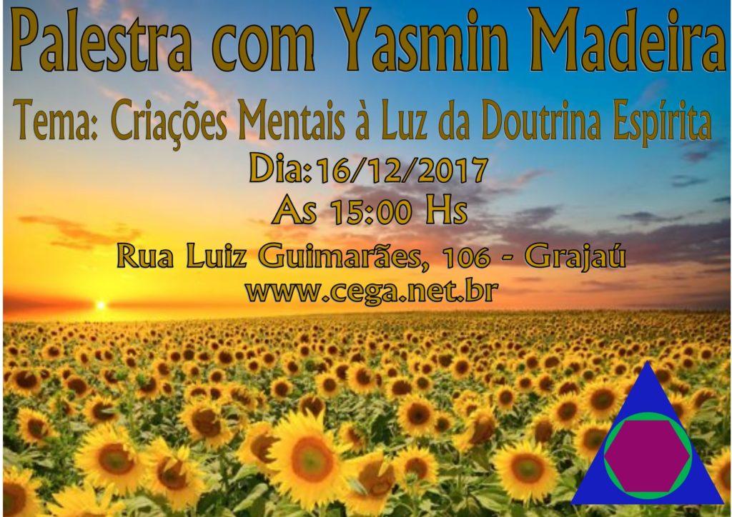 Palestra com Yasmin Madeira no Grajaú - https://t.co/L1kR6dNIR2 https:...