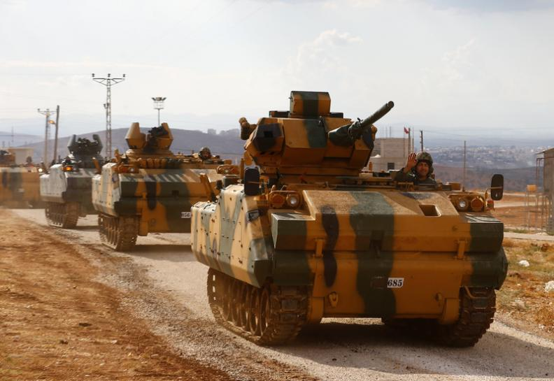 First Turkish military convoy enters Syria's Idlib http://reut.rs/2yHC8uR