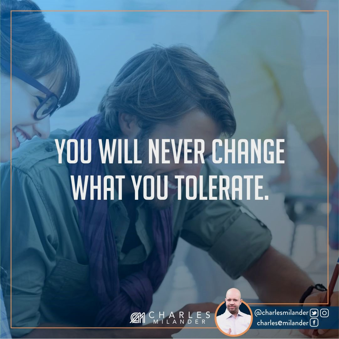 You will never change what you tolerate. #bible #Jesus #Jesuschrist #working #founder #startup #money #startuplife #successful #passion #ins<br>http://pic.twitter.com/9lC2G1hKfW
