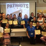 Patrick Henry parents graduate from computer classes 5 week series #technology
