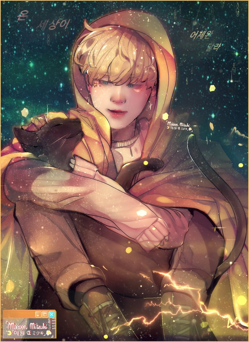 Happy birthday twin brother. ( ̄▽+ ̄) The world is different from yesterday._Serendipity. #ARTMYS_JMBD2 #HappyJiminDay #jimin #btsfanart #지민pic.twitter.com/gVonk1GNxa  by 🩹 M a ë w e n -Œ __☥ 🩸 // wtf bangchan