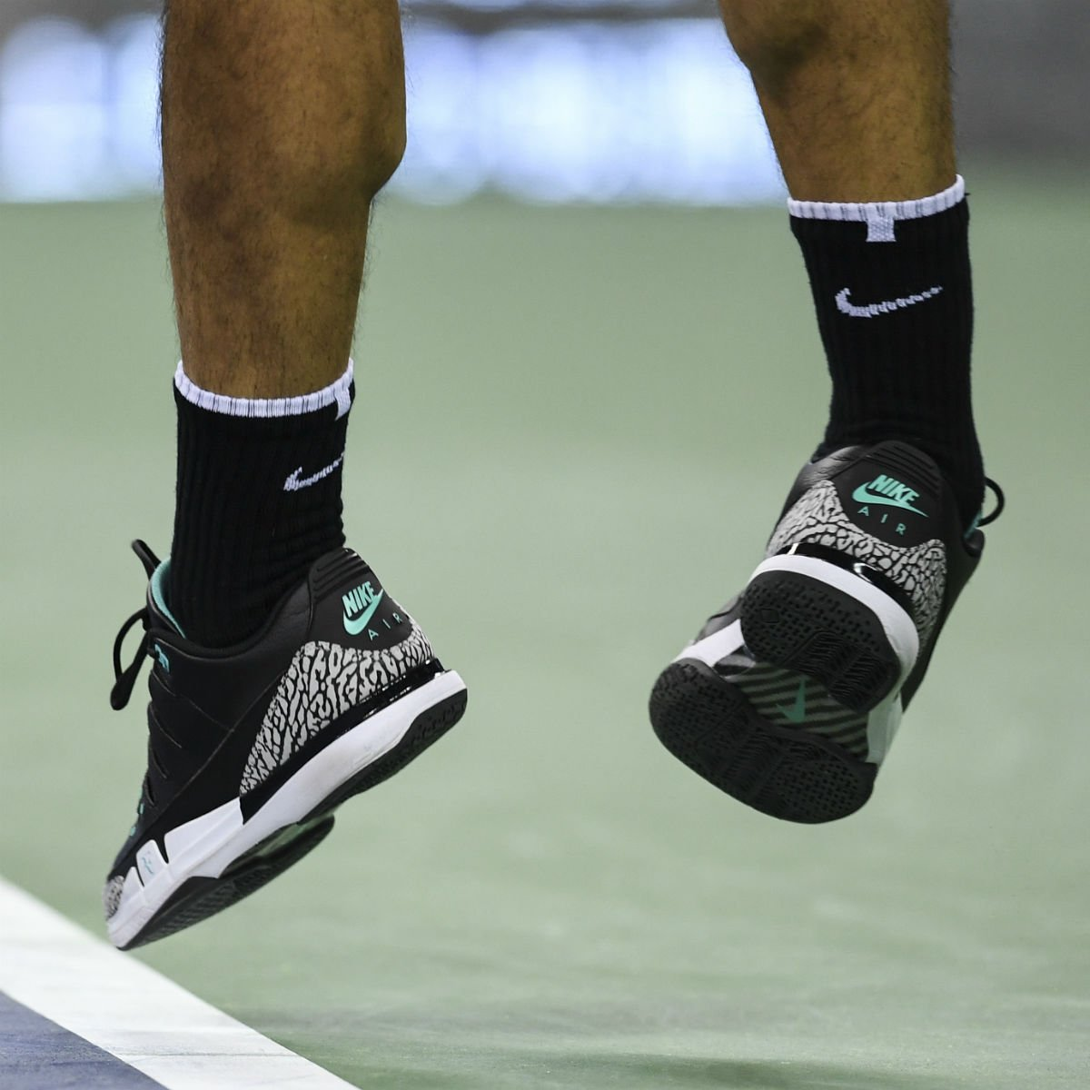 newest e3ed4 db2c5 solewatch: @rogerfederer wearing the