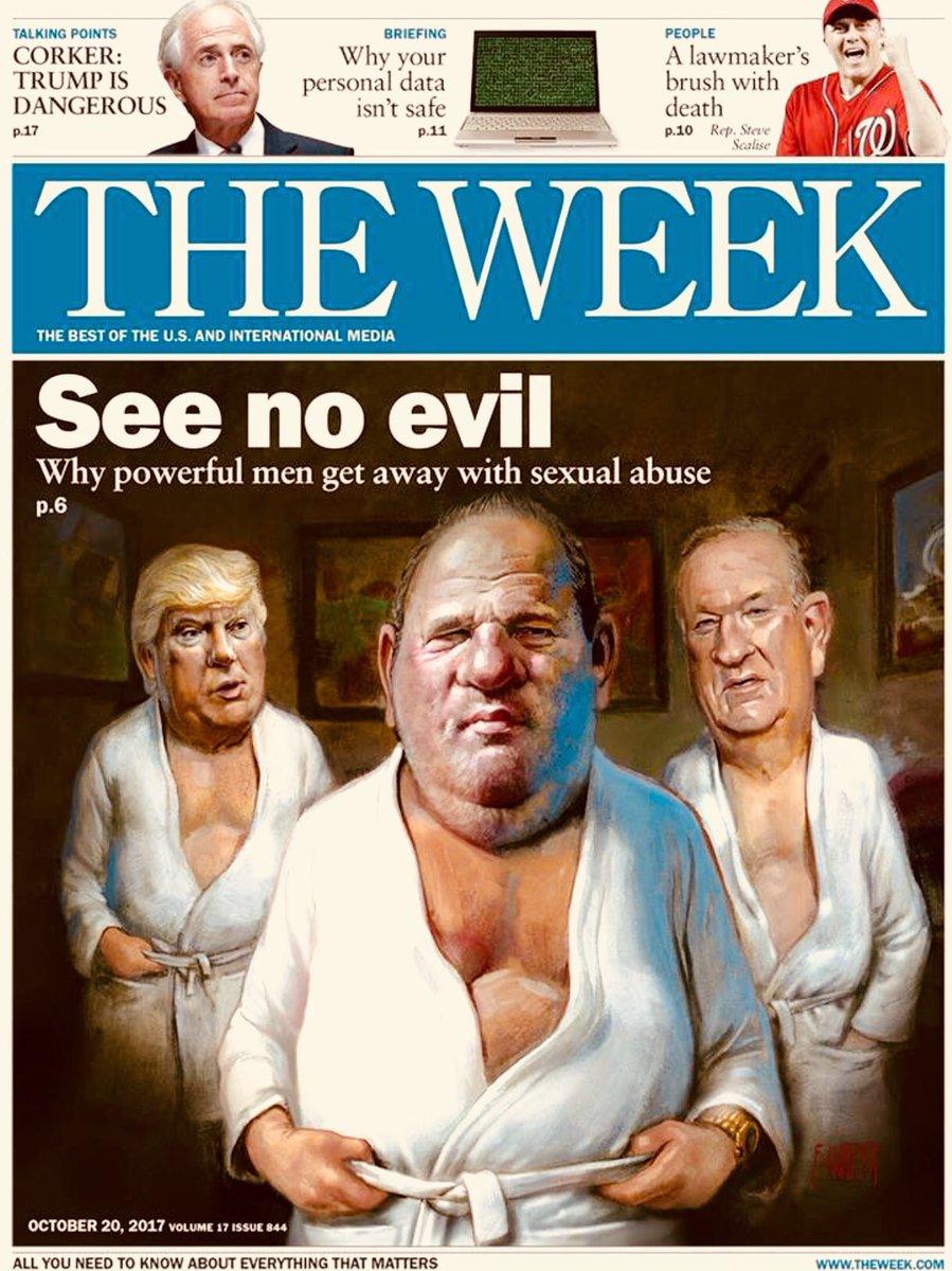 Magazine cover trump