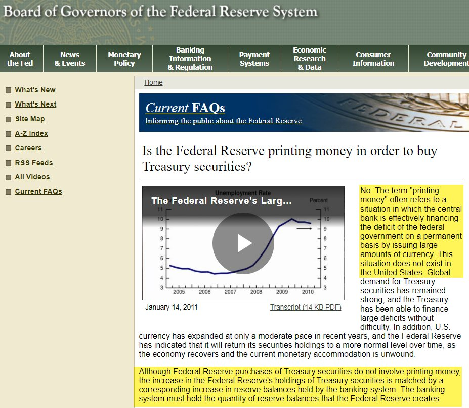 The Federal Reserve Has Never Printed &#39;Money&#39;: Part I  http:// dlvr.it/PvCK53  &nbsp;   #IEF #SPY<br>http://pic.twitter.com/yAlRk1ztse