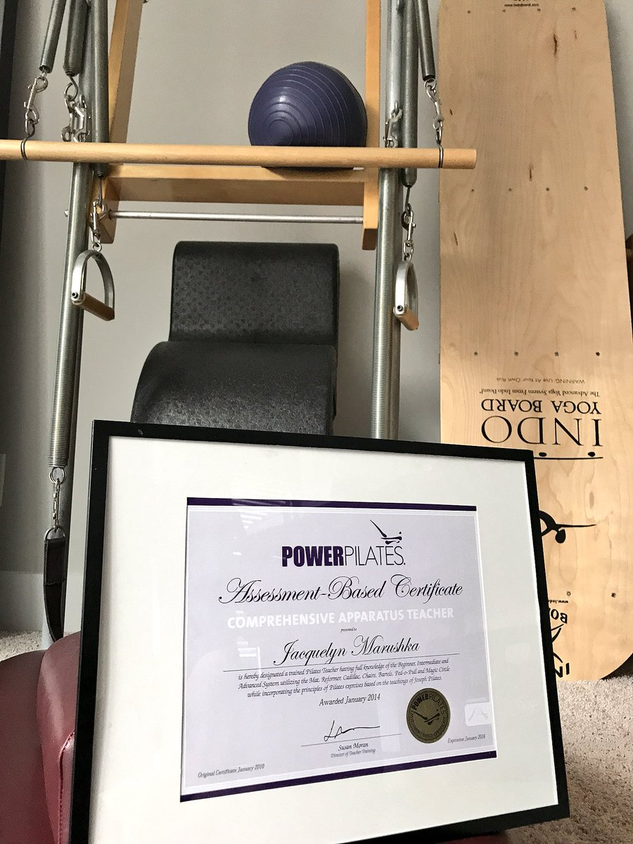 Yahoo! I'm SO proud of this. Advanced #Pilates classes start soon + new certifications  2018.  #Classical @PowerPilatesNYC  #PowerPilates pic.twitter.com/ft3ZMldW3B