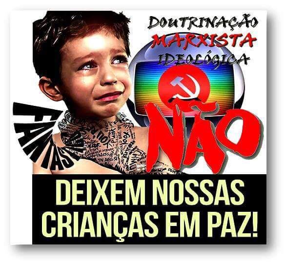 Se você assiste o Fantástico! Assiste a Globo! Você dá audiência, dinheiro e poder para quem quer destruir sua família! ACORDE! #GloboLixo