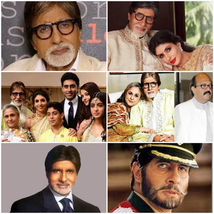 Happy birthday to Mr Amitabh Bachchan sir. May u live long and healthy life.