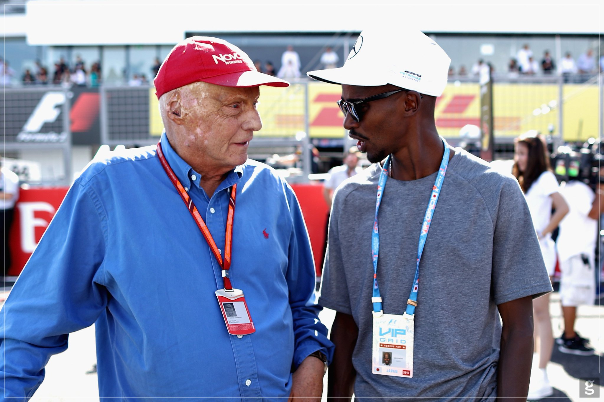 Amazing to have a chat with Great man Niki Lauda!!! https://t.co/uQtUsdExTF