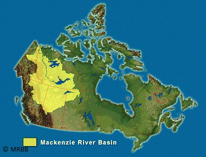 Timely for @LiberEroFellows #LiberEroRetreat this week in Délįne, Northwest Territories (on Great Bear Lake, top of yellow area). #cdnsci <br>http://pic.twitter.com/iIWAZkpq6N