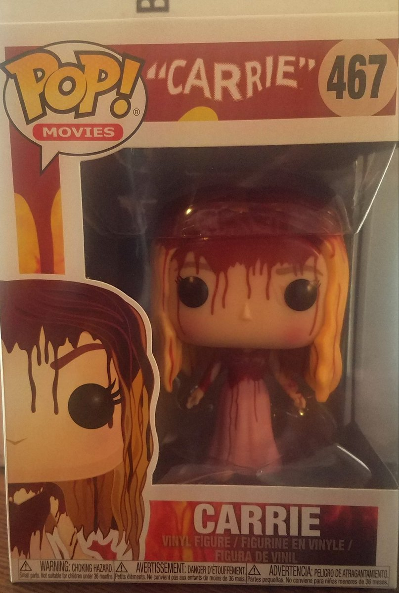 My #carrie came today #FunkoPOP<br>http://pic.twitter.com/yhd1HB4lfR