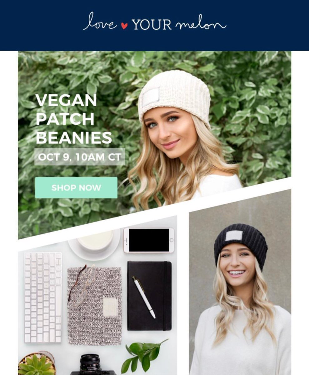 dd9ede3e65c93 PSA  Vegan Beanies were released this morning! Check out http    loveyourmelon.com to get yours today!  govegan  loveyourmelonpic.twitter .com Pz5YwKANZ8