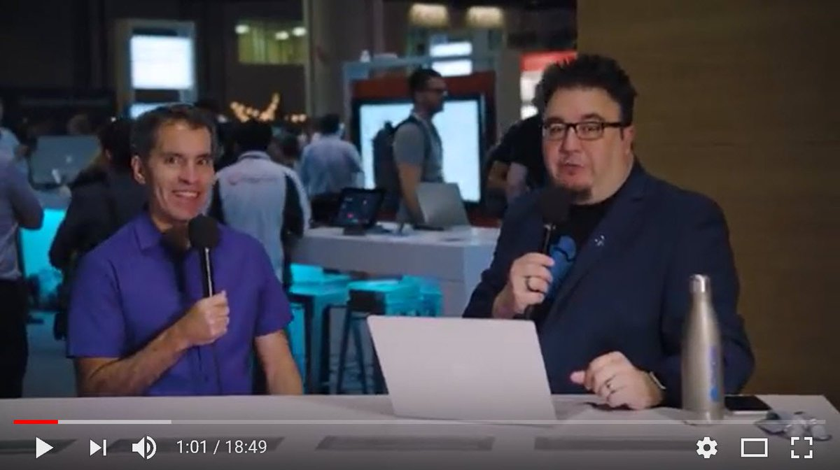 Always fun to hear from @jeffteper, this time interviewed by @stephenlrose on all things @OneDrive #MSIgnite news:  https:// youtu.be/BWGQqSAE9po  &nbsp;  <br>http://pic.twitter.com/qL3gqQOzKq