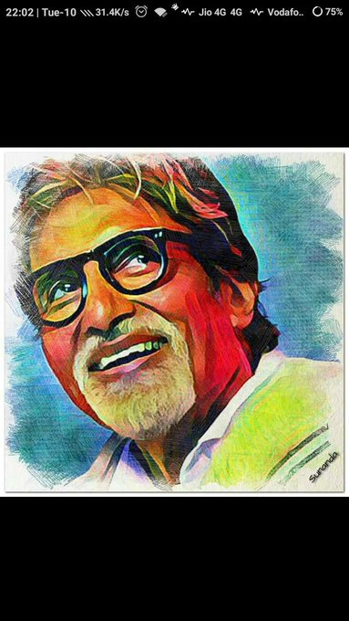 Happy birthday sir Amitabh bachchan ji.. We love you..