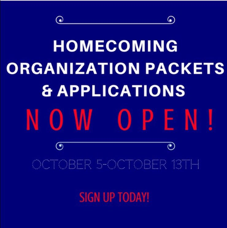 Has your student organization signed up yet? #HOCO17 #WeAreSouth #GoJags #USA21 #USA20 #USA19 #USA18<br>http://pic.twitter.com/hxaGLY8QGf