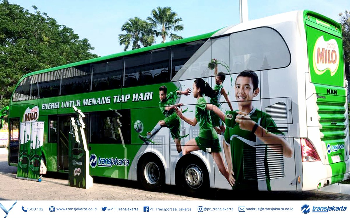 "Transportasi Jakartaさんのツイート: ""Bus wisata Transjakarta"