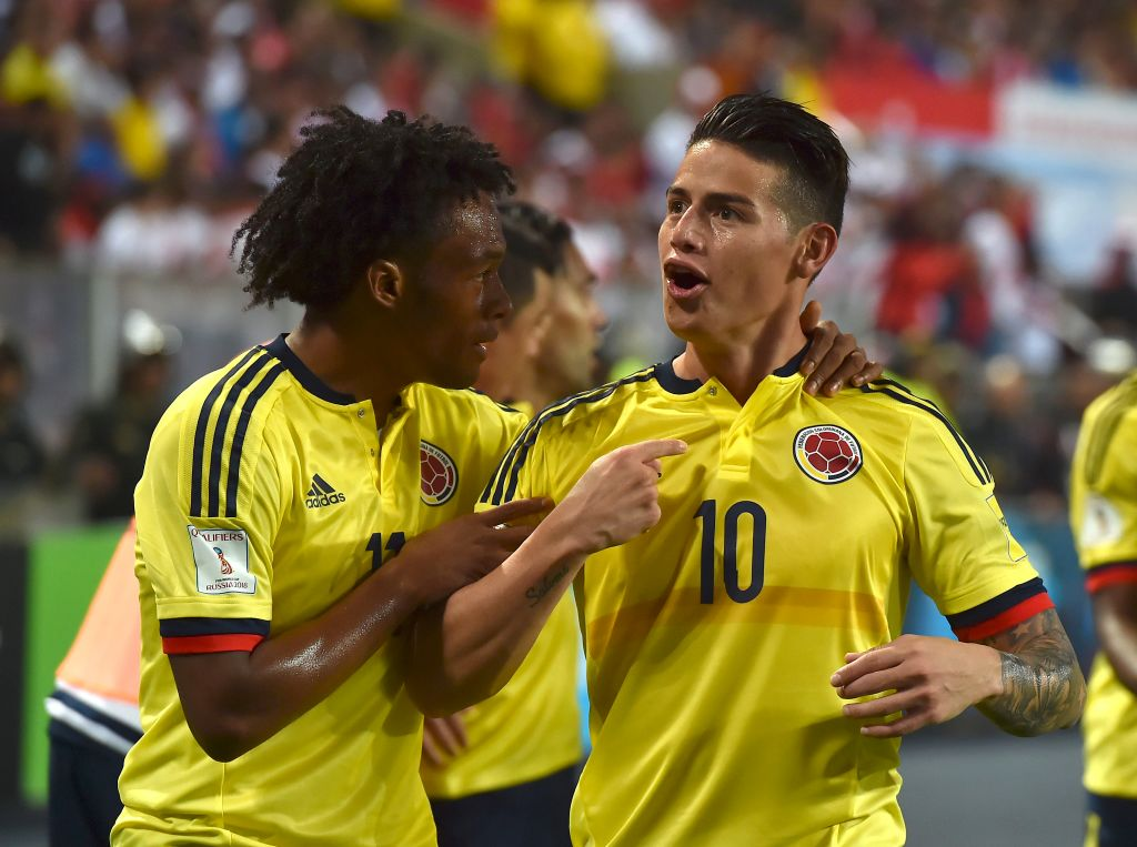 Video: Peru vs Colombia