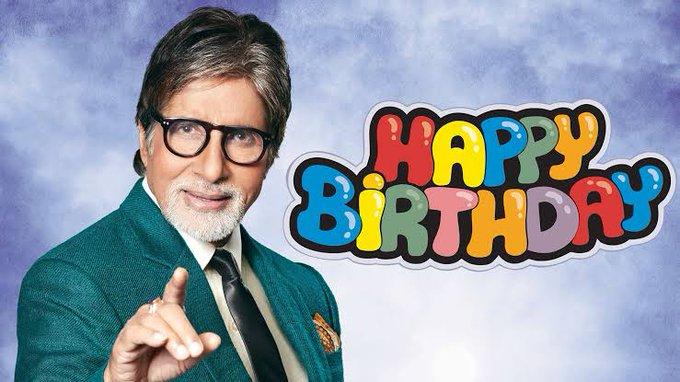 Amitabh Bachchan ji  happy birthday to you