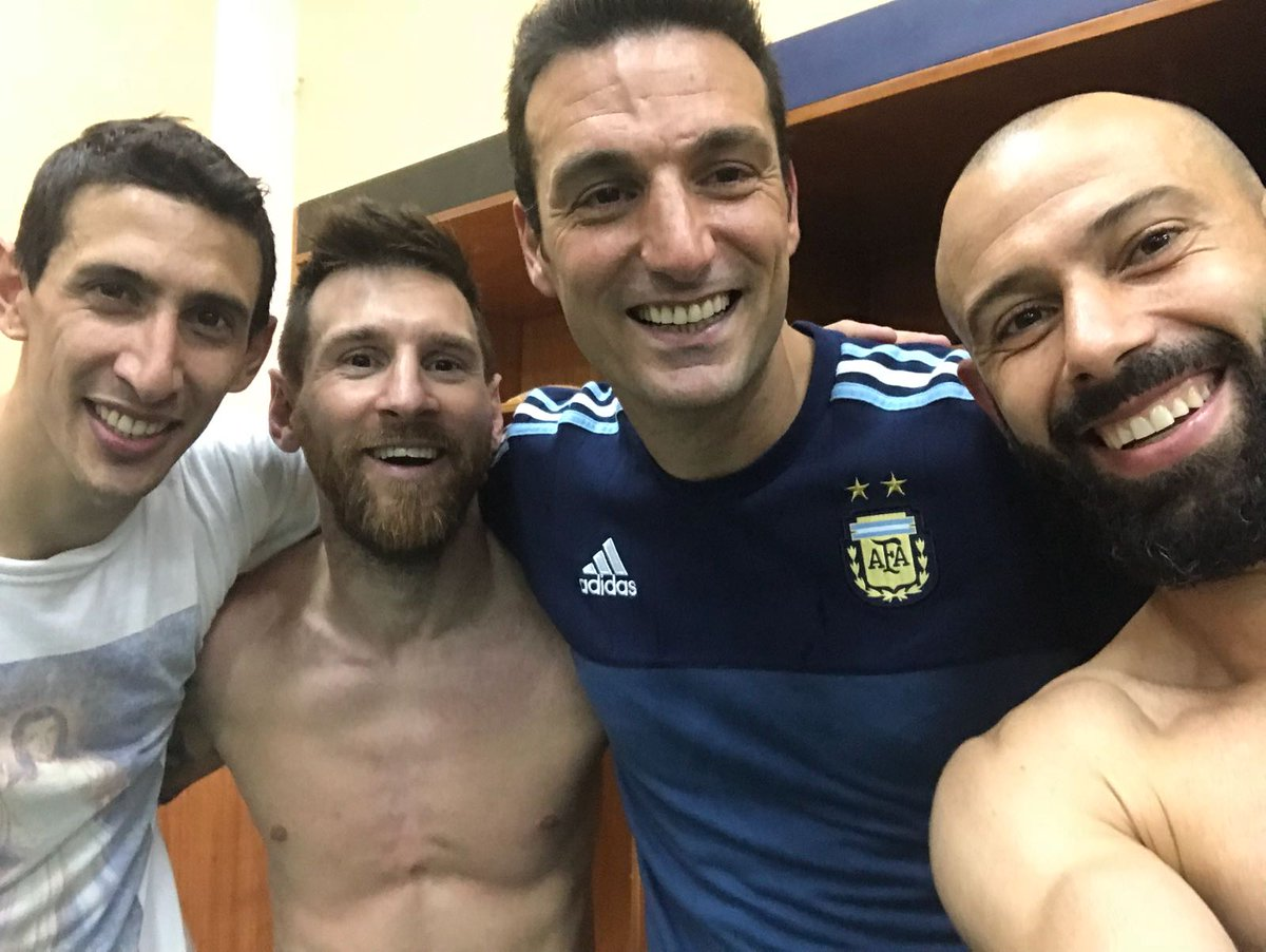 ... off to work in a minute but still listening to this... COS I&#39;M #HAPPY for my @Argentina #Messi  @Mascherano #feliz #VamosArgentina!<br>http://pic.twitter.com/0qcvUpS7XF