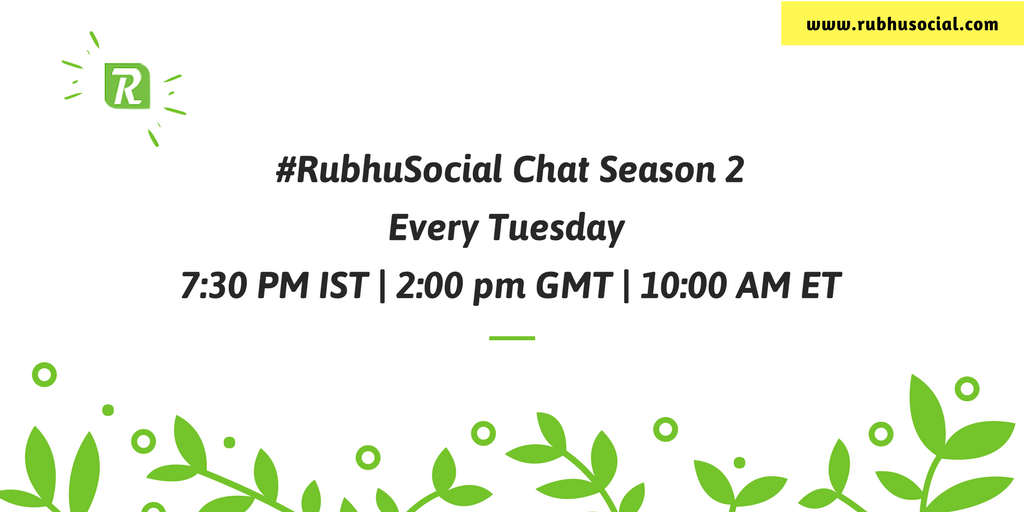#RubhuSocial tweet chat is now all for #SmallBusinesses and #Solopreneurs. Join us to share and learn  http:// bit.ly/RSTChat  &nbsp;  <br>http://pic.twitter.com/5hgBLSaLfN