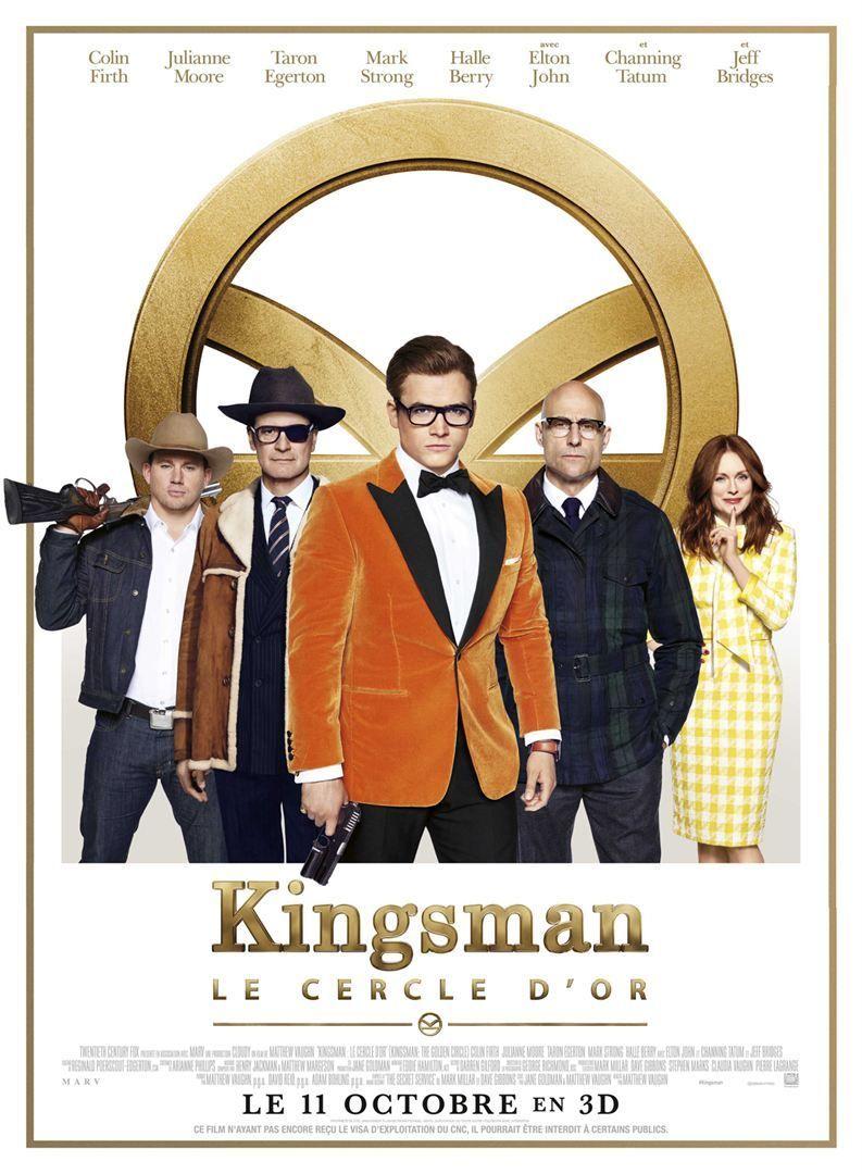 Aujourd'hui ne manquez pas la sortie de l'excellent #Kingsman  : Le Cercle d'Or  pic.twitter.com/QFzi3cxAWq