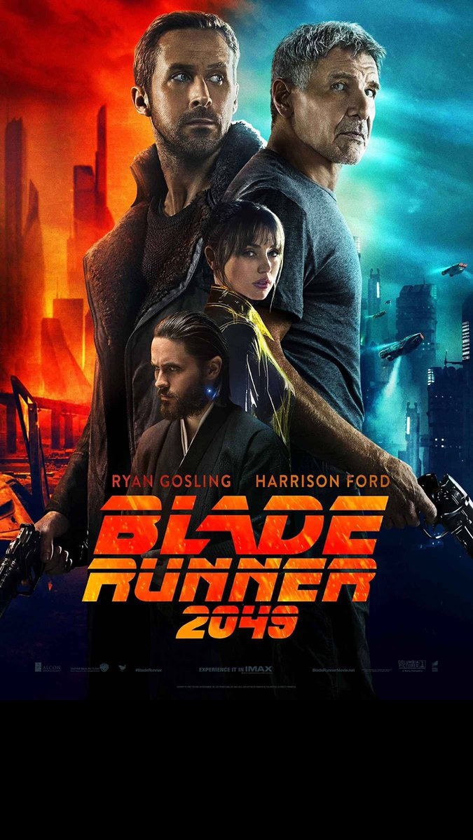 #BladerRunner2049 2.5/5 too long, 1st half is a moody looking #gosling decent film tho #FilmReview #mustseeincinema<br>http://pic.twitter.com/JRfXjWicUr