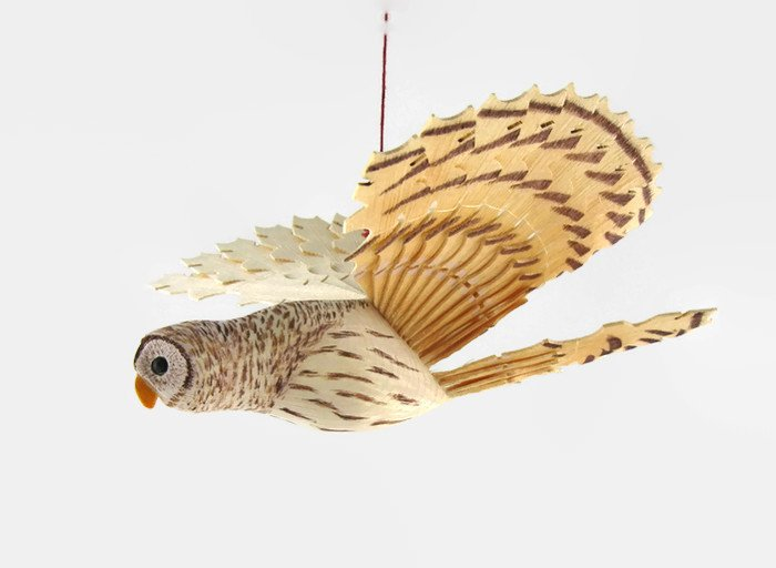 Owl Wood Carving Wooden Bird Mobile Barred Owl Hand Carved  http:// etsy.me/2f8HgA6  &nbsp;   via @Etsy #WoodCarving #WoodCraft #boebot #Retweettrain <br>http://pic.twitter.com/xpTmjuHfsa
