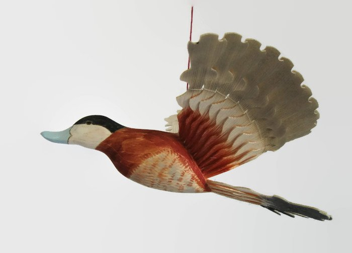 Woodland Mobile Hand Carved Ruddy Duck 5th by MyFanbirds  http:// etsy.me/2nLHbEx  &nbsp;   via @Etsy #KPRS #Retweettrain #addthis #like2 #Shoutouts<br>http://pic.twitter.com/F6kllIpGbu