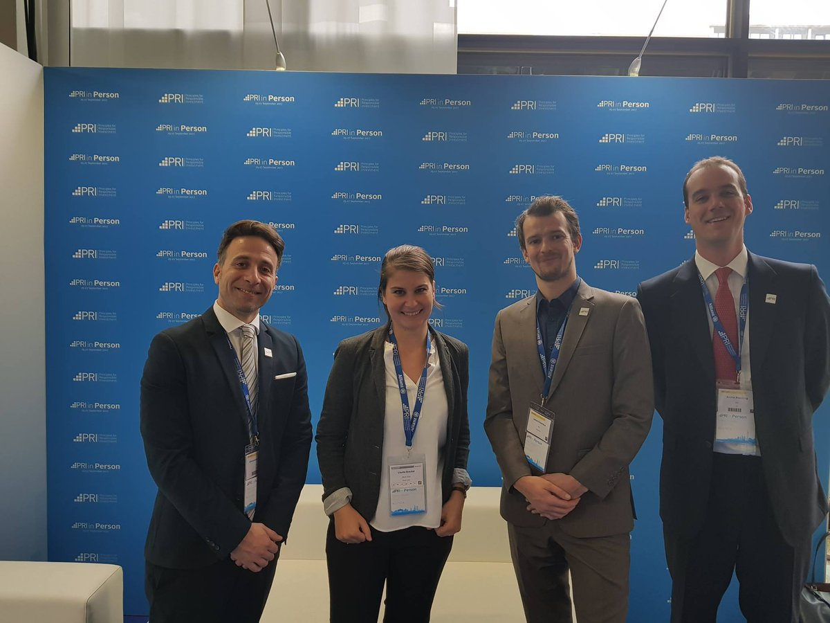 PRI in Person 2017 Great event with inspiring speakers and insightful sessions #PRIinperson #responsibleinvesting #ESG<br>http://pic.twitter.com/SxvbyNdvsY