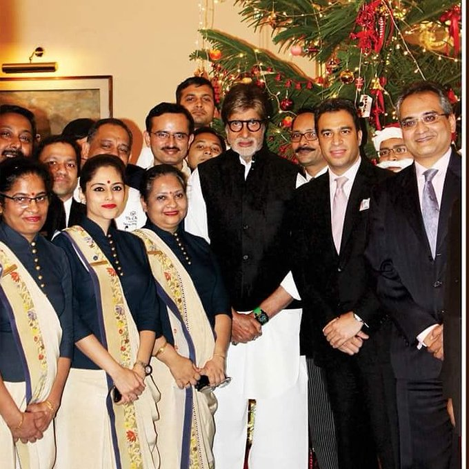 Here\s wishing Mr. Amitabh Bachchan a very happy birthday from Team The Oberoi Grand Kolkata!