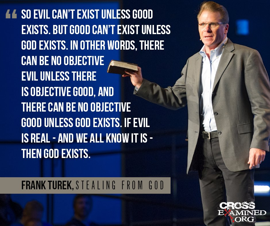 Frank Turek On Twitter If You Think Atheists Have Reason Evidence