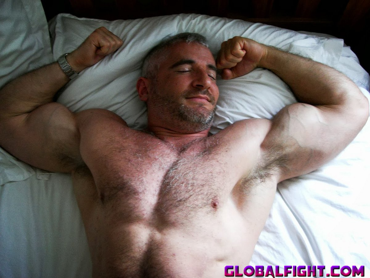 My muscle beefcake buddy from  http:// GLOBALFIGHT.com  &nbsp;   #muscles #man #sleeping #bed #asleep #hairy #chest #pecs #handsome #husband #bedroom<br>http://pic.twitter.com/IzEAcFk3q1