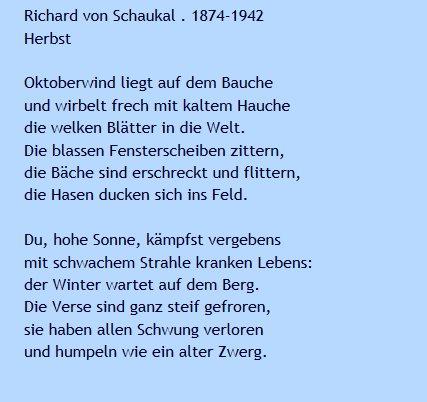Goethe Institut Ie On Twitter Unser Gedicht Der Woche