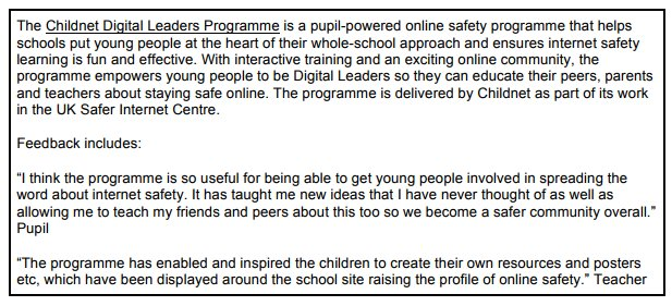 Another Word Internet Taught Me >> Childnet On Twitter The Internet Safety Strategy From Dcms